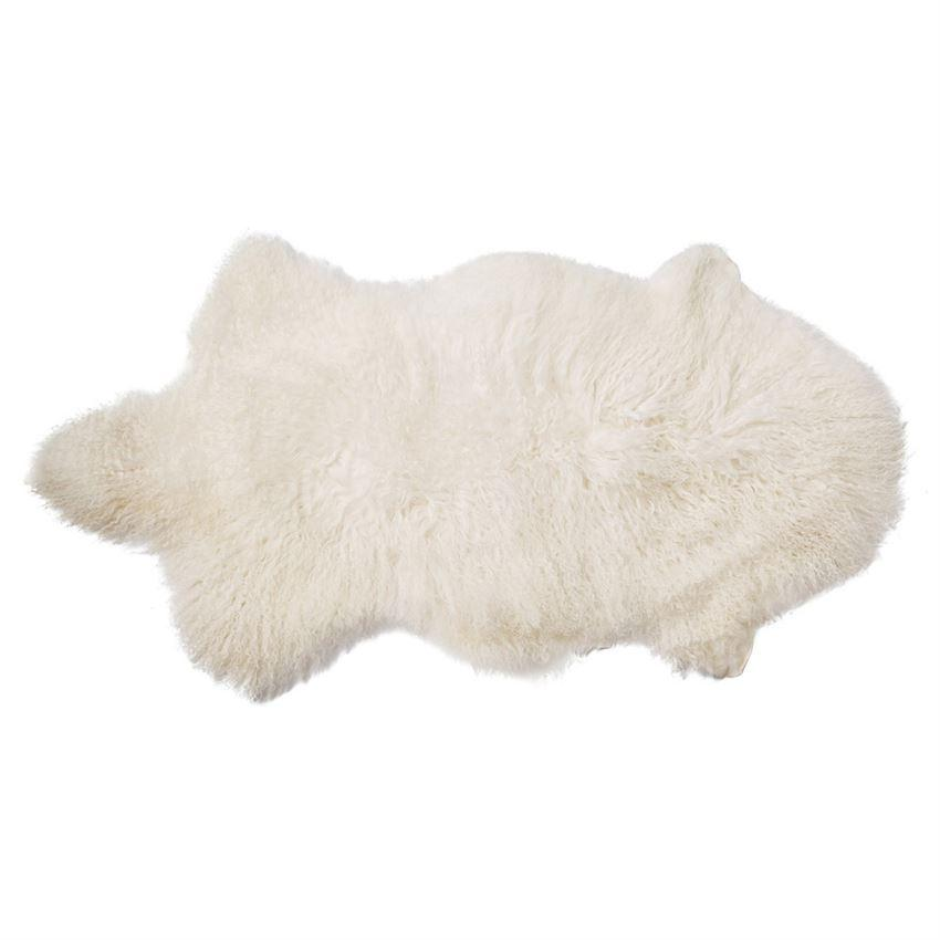 Bloomingville Objects Natural / FINAL SALE Natural Mongolian Lamb Fur