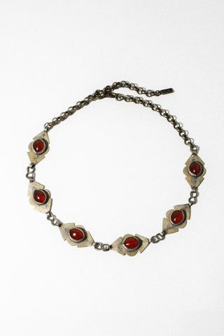 Bukhara Trader Jewelry Amber / FINAL SALE The Nawroz Turkmen Stone Choker