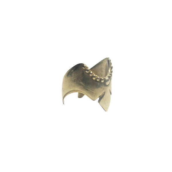 NUN NYC Jewelry Brass Aurora Finger Shield