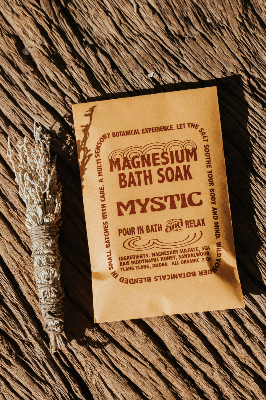 Wild Yonder Botanicals Objects Magnesium Mystic / FINAL SALE B065