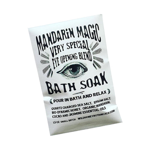 Mandarin Magic Bath Salt Soak