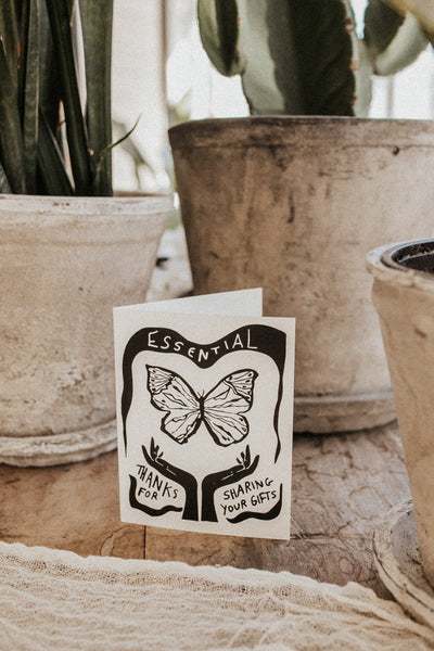 Amador Collective Objects You are Essential Candle + Card