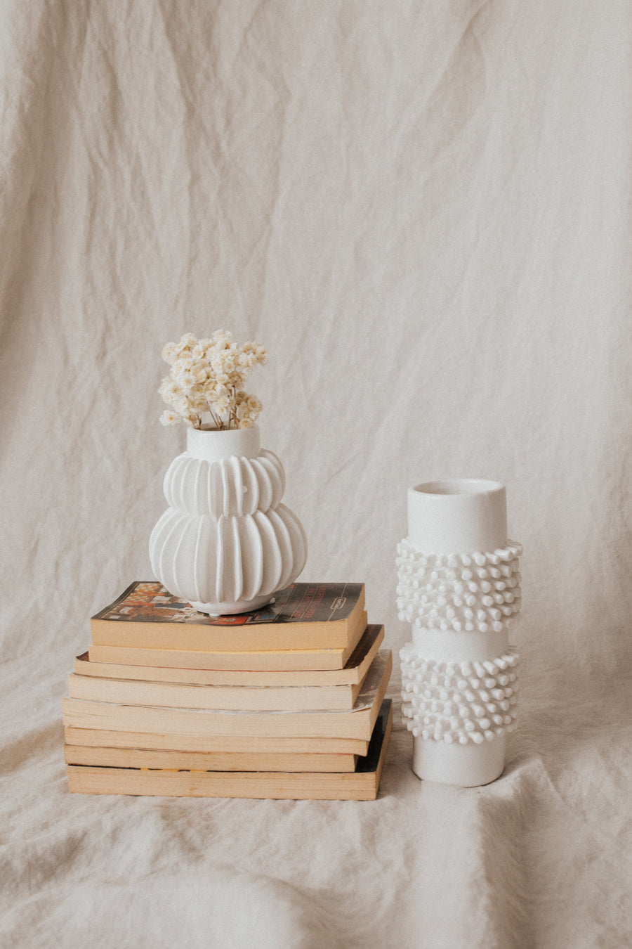 Bloomingville Objects White / FINAL SALE Agwe Stoneware Vase