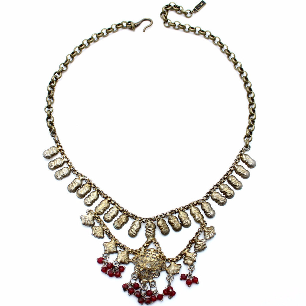 Ruby Banjara Necklace - Child of Wild  - 1