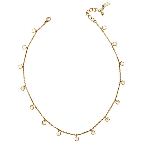 CW collection dead stock Gold / Square The Galaxy Choker - Gold