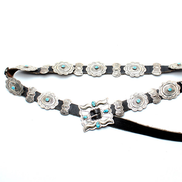 Desert Tripper Navajo Concho Belt - Child of Wild  - 3