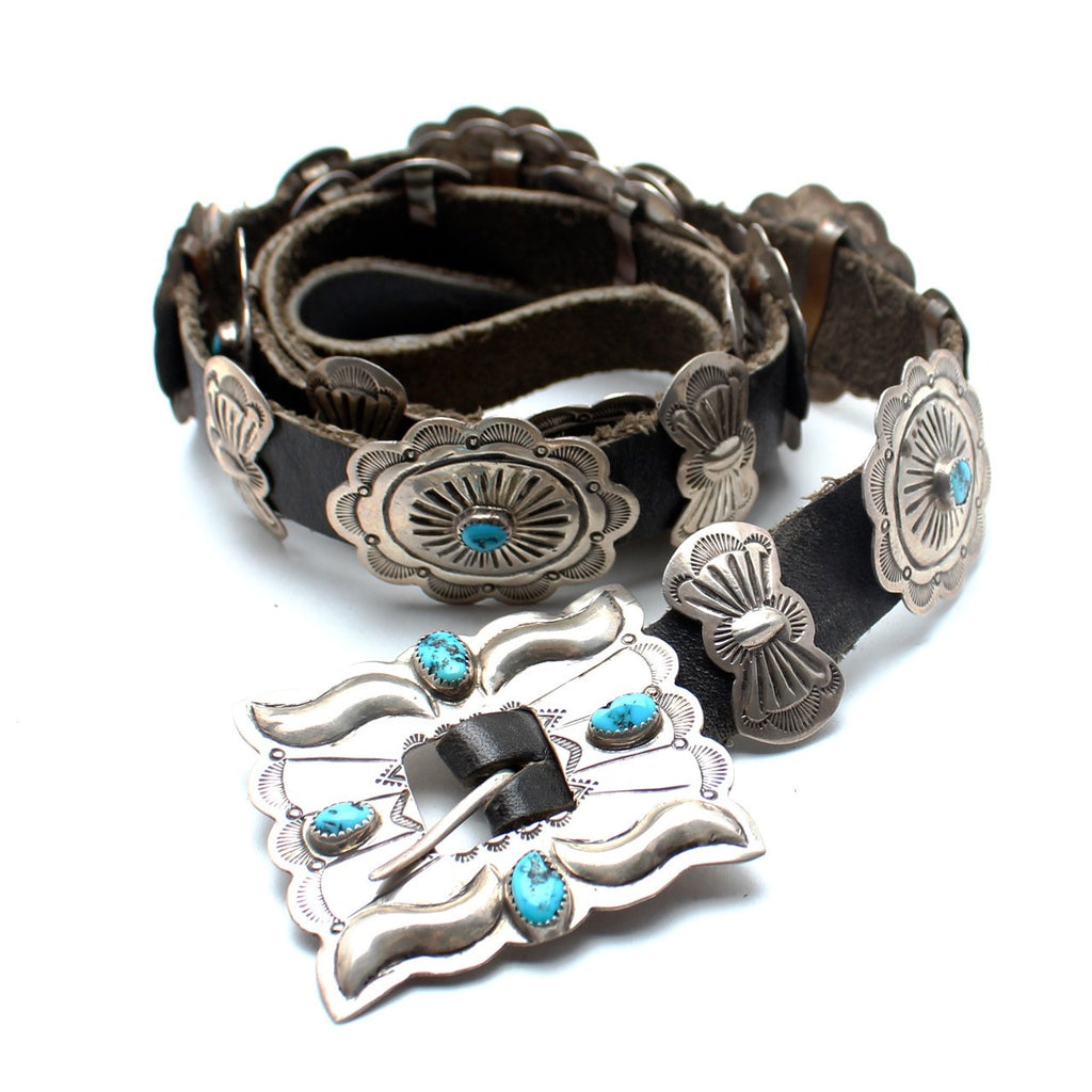 Desert Tripper Navajo Concho Belt - Child of Wild  - 1