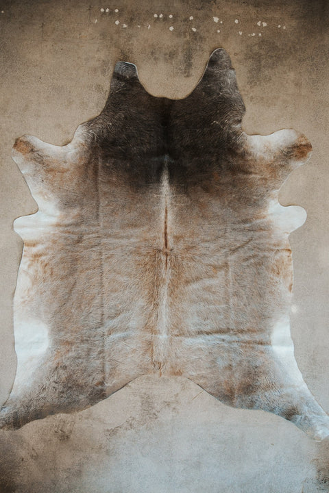 BS Trading Co Objects Multi-Color / 7' x 5' / FINAL SALE Natural Cowhide