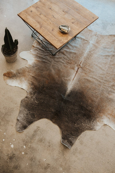 BS Trading Co Objects Natural Cowhide