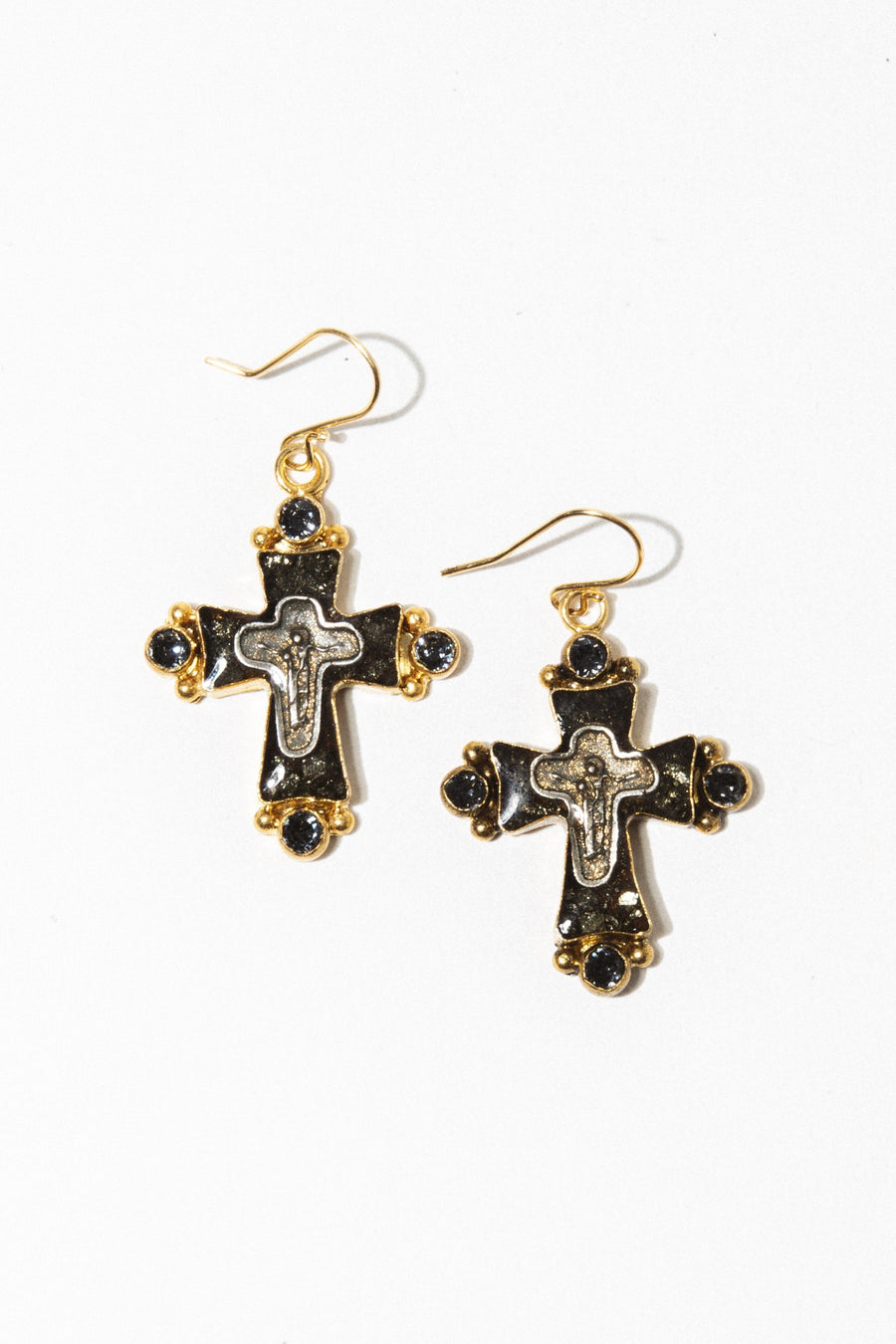 VSA Jewelry Magdalena Cross Earrings