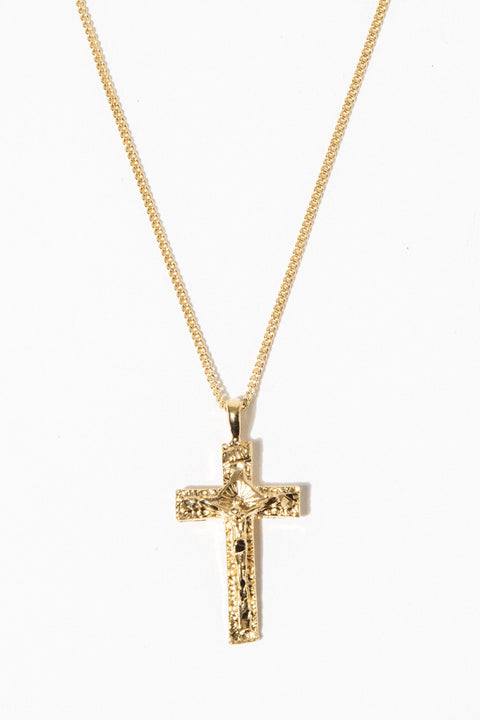 Sparrow Jewelry 22 Inches / Gold The Son of Man Necklace