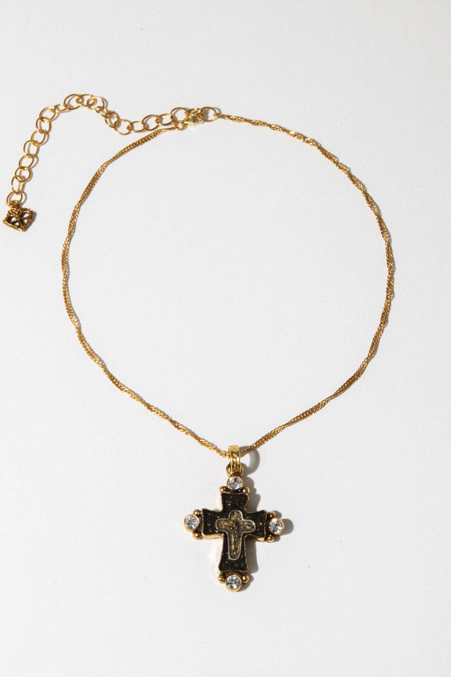 VSA Jewelry Santa Monica Magdalena Cross Choker