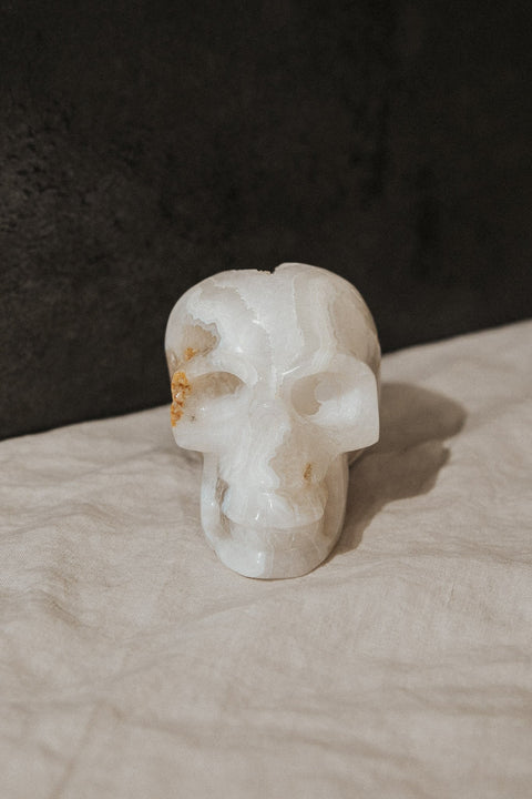 Child of Wild Objects Large / White / FINAL SALE Santo Large Crystal Skull