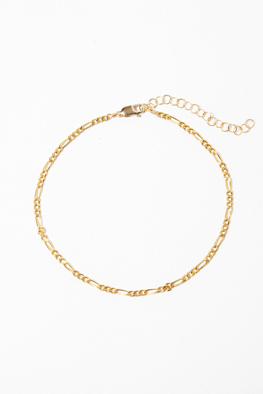 CGM Jewelry Gold Piccolo Anklet