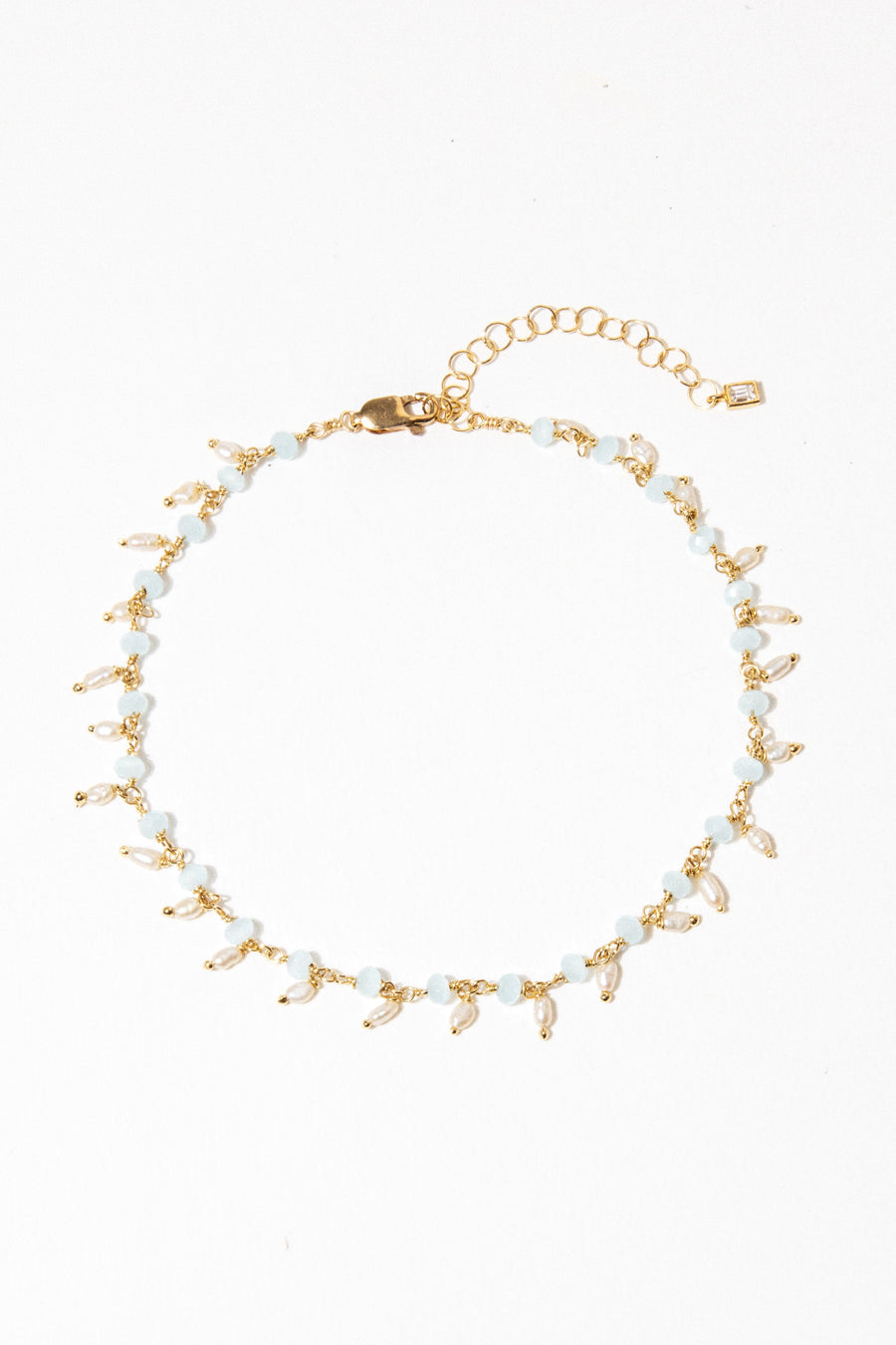 Goddess Jewelry Gold Cicero Anklet
