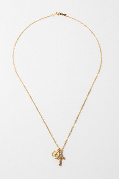 CGM Jewelry The Hail Mary Dainty Necklace