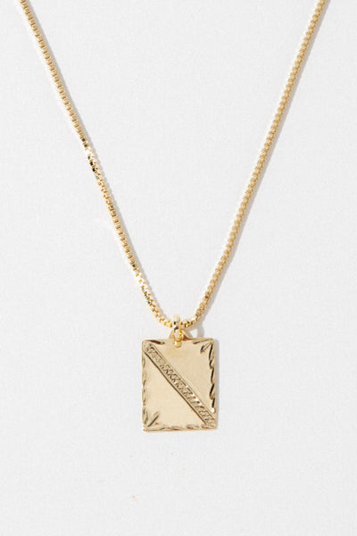 Dona Italia Jewelry Gold / 20 Inches Luca Necklace