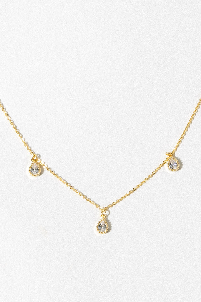 charis Jewelry Gold / 14 Inches The Trinity Necklace