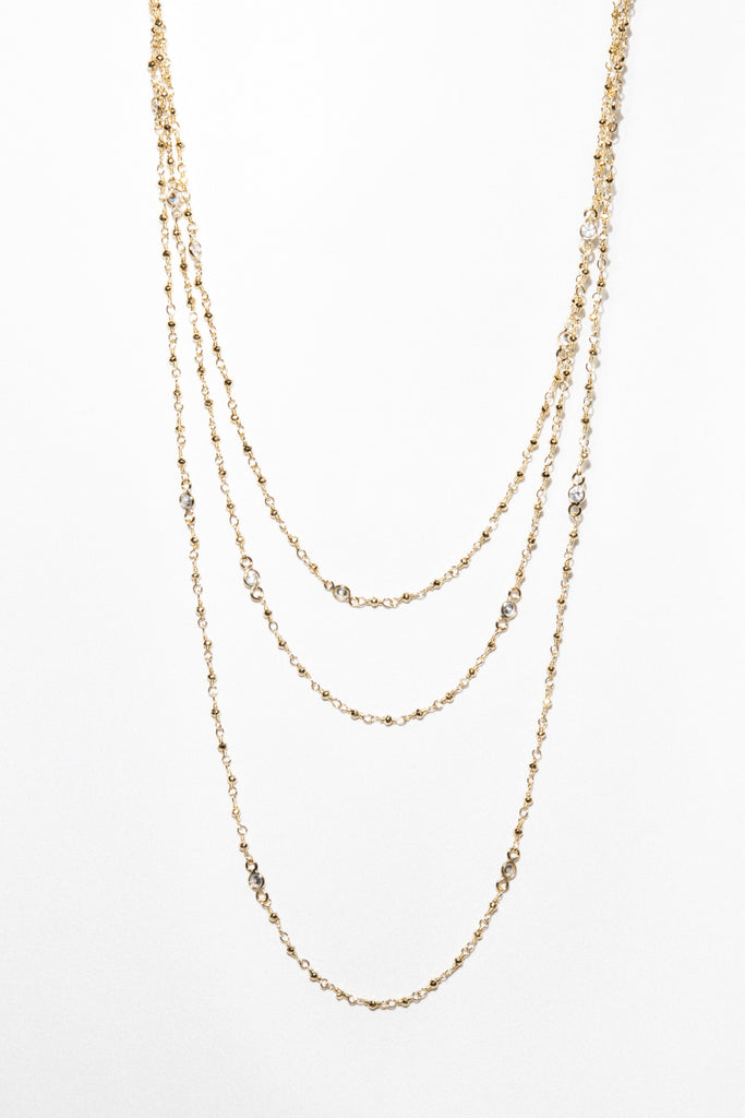 Goddess Jewelry Gold The Duchess Layered Necklace