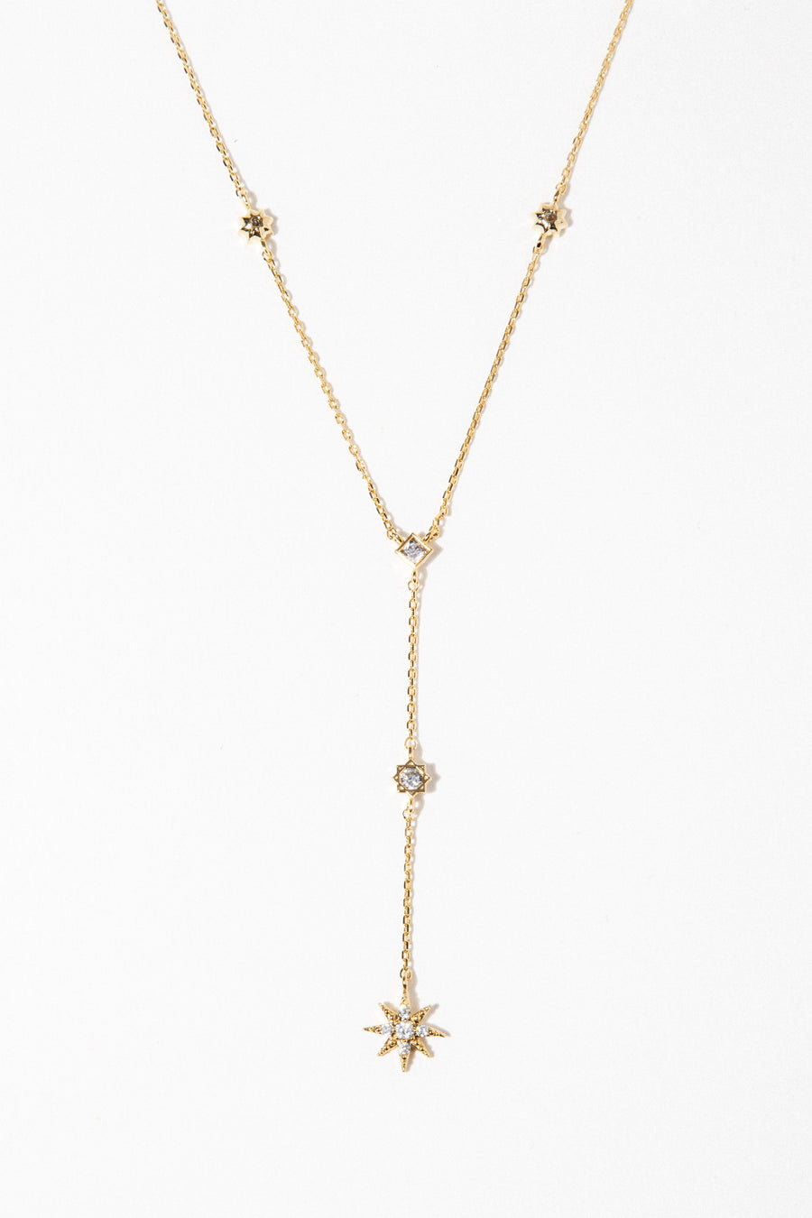 charis Jewelry Stardust Lariat Necklace