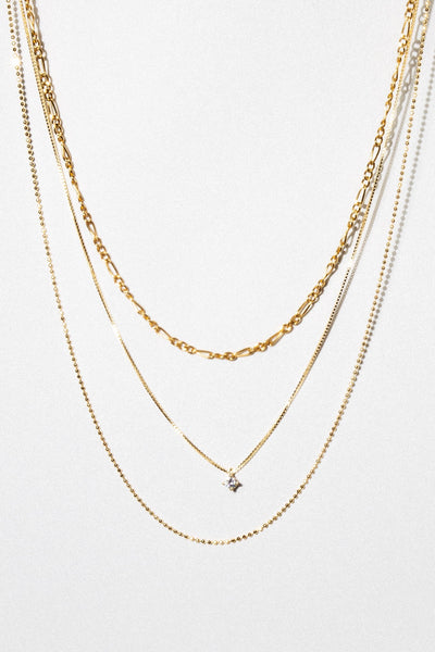 Dona Italia Jewelry Gilded Layered Necklace