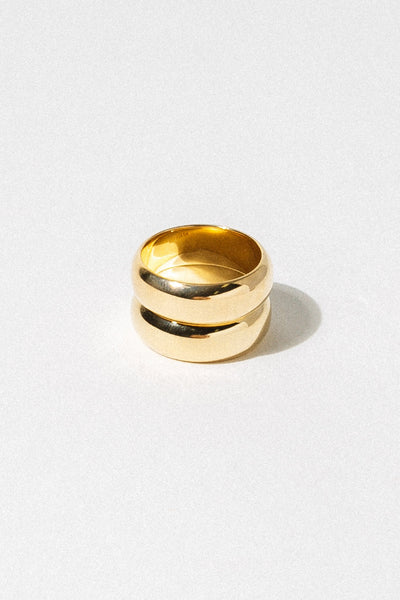 Wildthings Collectables Jewelry US 7 / Gold Double Trouble Ring