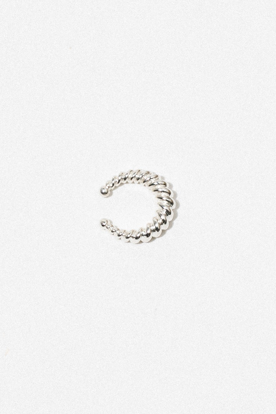 Wildthings Collectables Jewelry Silver Twisted Ear Cuff Silver