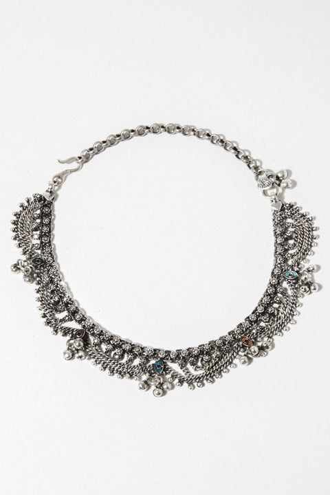 Sanjay Jewelry Wages of Sin Choker