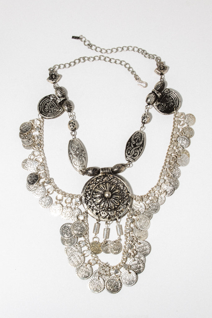 Child of Wild Jewelry Silver Moon's Vengeance Indian Necklace