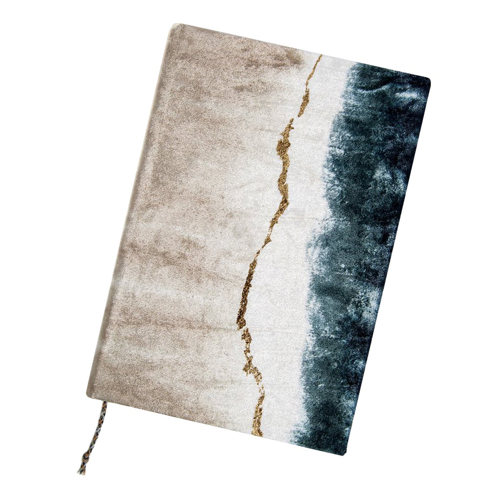 Printfresh Objects Geode Dip Dye Velvet Journal