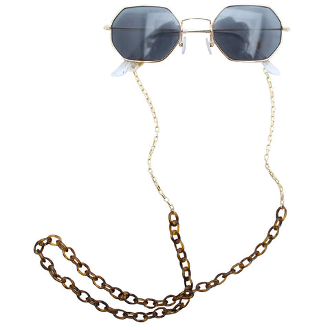 Tortoise Shell Sunglass Chain