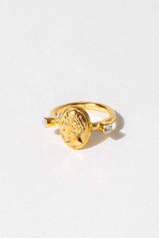 CAPRIXUS Jewelry US 6 / Gold Apollo Signet Ring