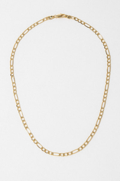 Dona Italia Jewelry Gold / 16 Inches Maria Figaro Necklace