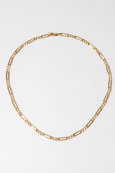 CGM Jewelry Gold / 14 Inches Da Vinci Chain Choker