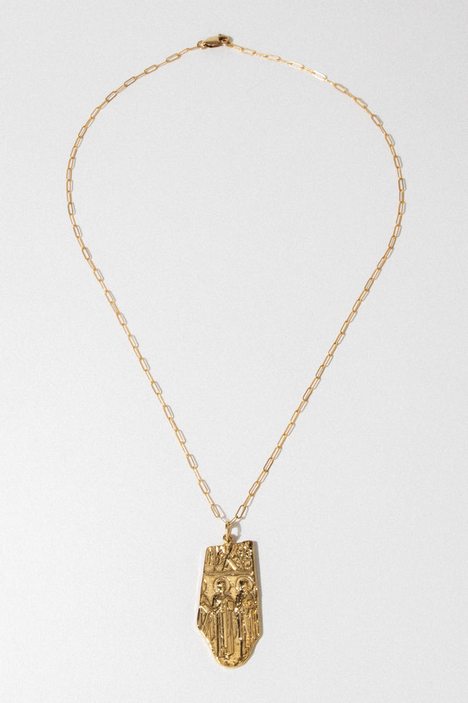 Goddess Jewelry Gold / 18 Inches Halo Necklace