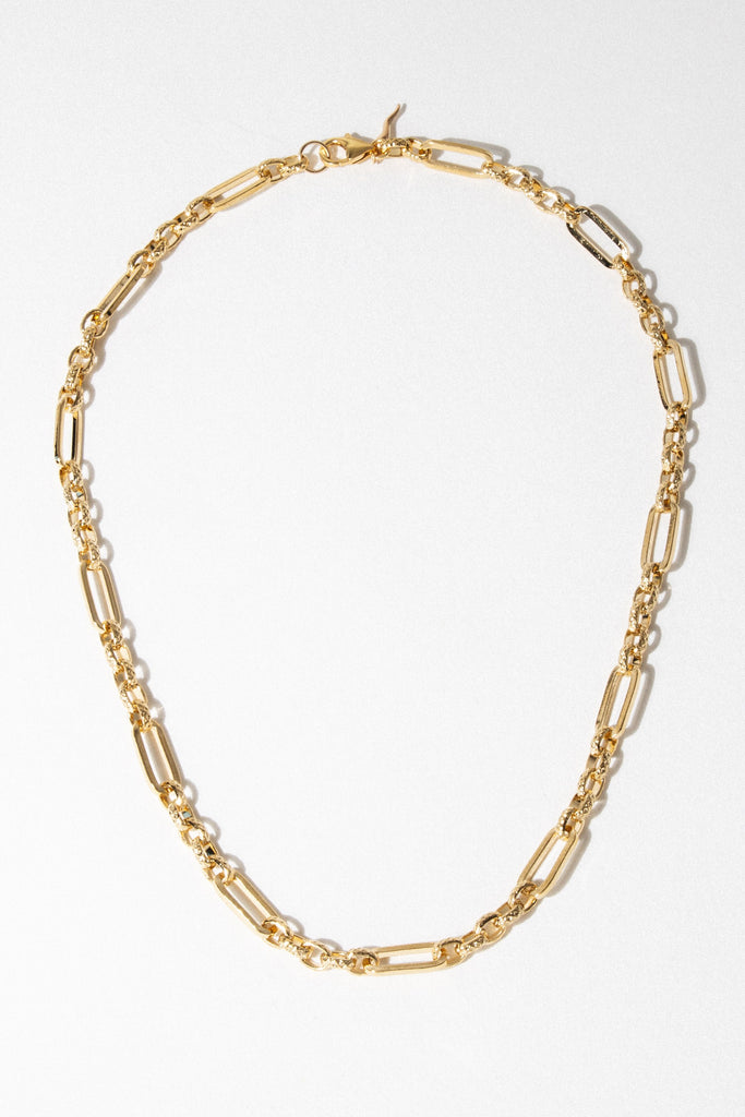 Goddess Jewelry 18 Inches / Gold Sandro Necklace