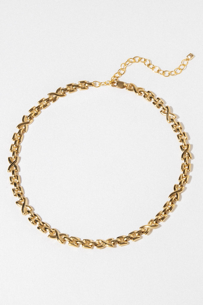 Goddess Jewelry Gold / 12 Inches Lux Chain Choker