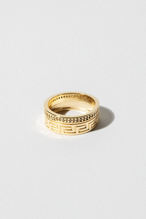 Dona Italia Jewelry Aztec Ring