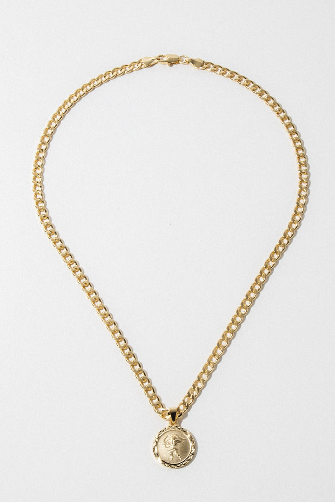 Dona Italia Jewelry Gold / 18 Inches The Cupid Necklace