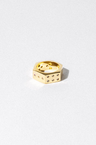 Dona Italia Jewelry Lucky Ace Ring