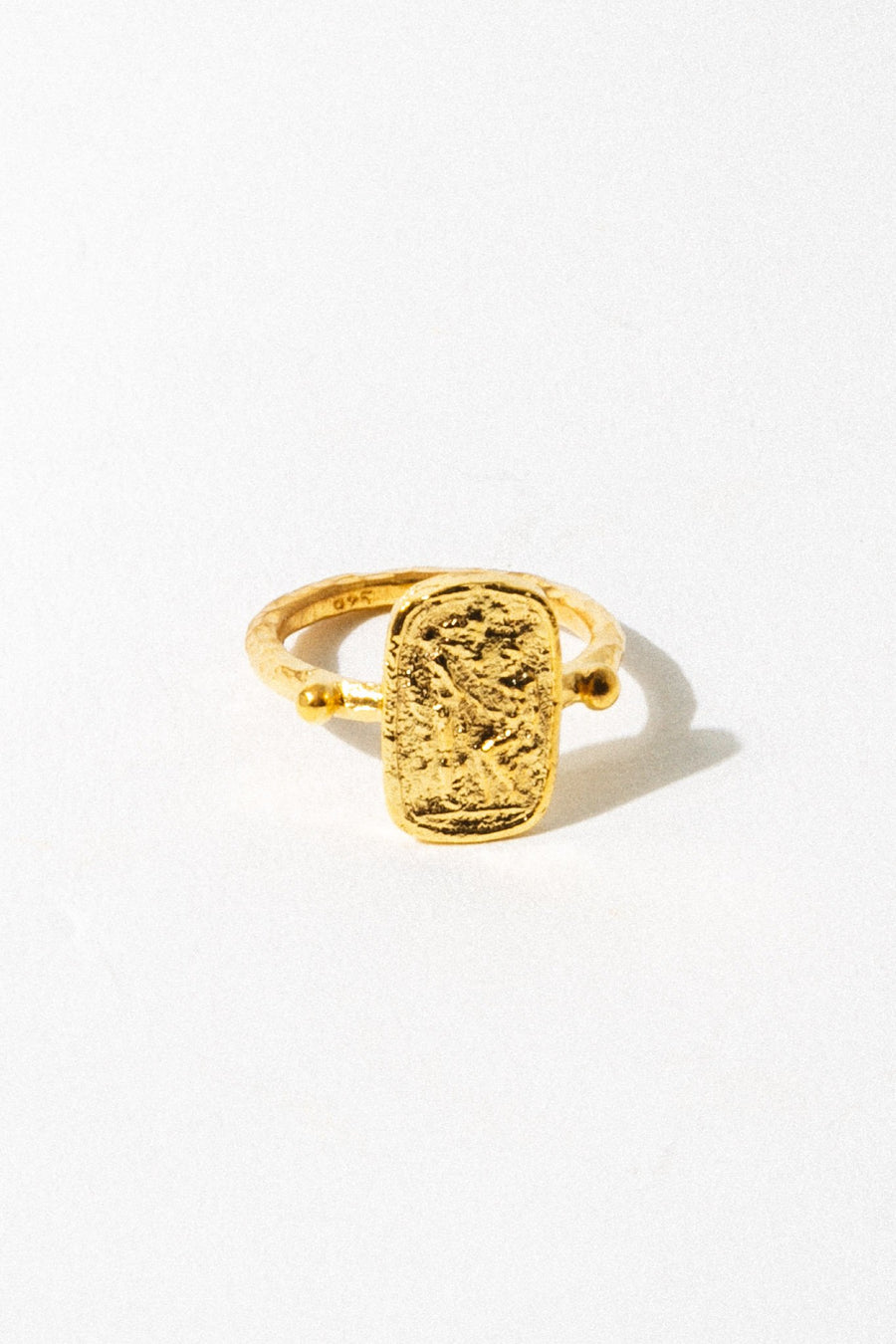 CAPRIXUS Jewelry Ancient Greek Signet Ring