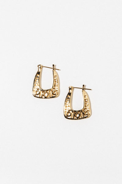 Goddess Jewelry Gold Monroe Earrings
