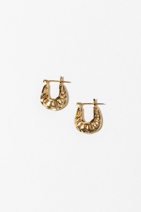 Goddess Jewelry Gold Louise Earrings