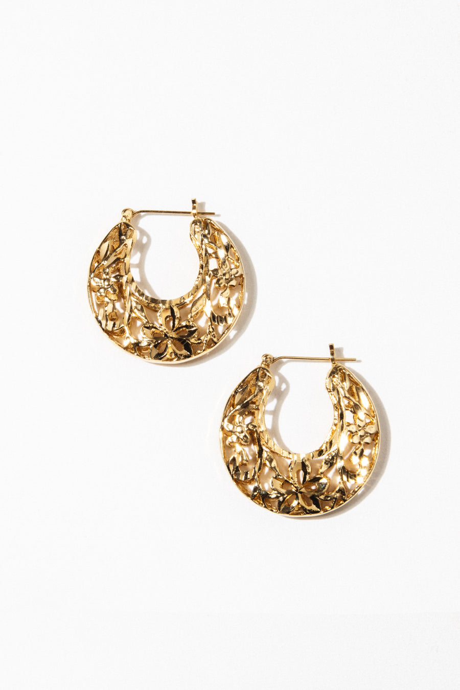 Goddess Jewelry Gold Spanish Fly Earrings