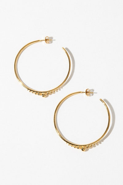Temple of the Sun Jewelry Gold Diona Earrings