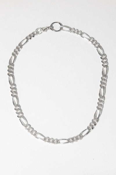 CGM Jewelry Silver / 16 Inches Milan Chain Necklace