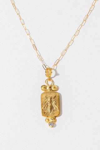 CAPRIXUS Jewelry Gold / 18 Inches Honey God Necklace