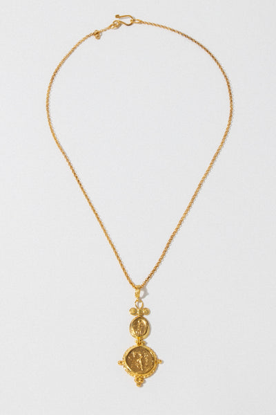 CAPRIXUS Jewelry Gold / 18 Inches Golden Prophecy Necklace