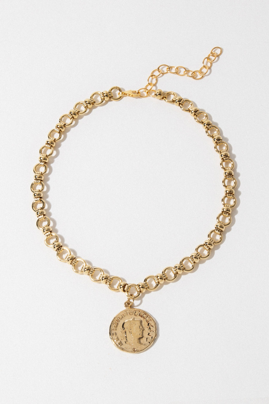 Goddess Jewelry Pertinax Coin Choker