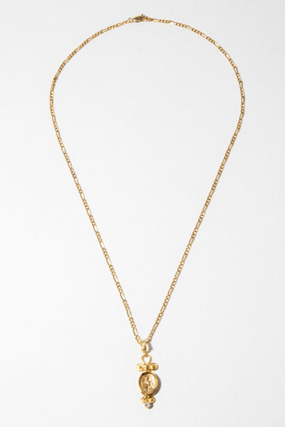 CAPRIXUS Jewelry Gold / 20 Inches Eros Necklace